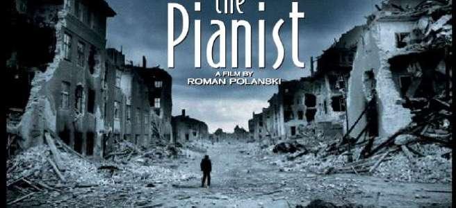 Cartel de El Pianista de Polanski