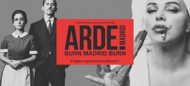 Cartel de Arde Madrid