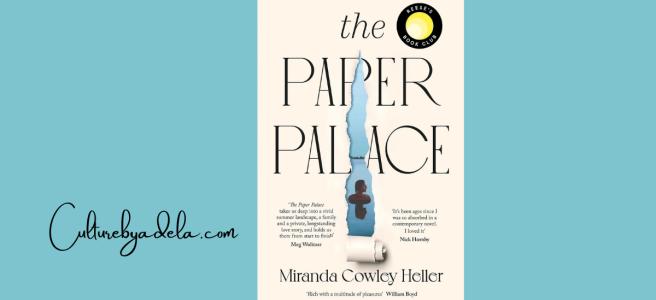 """Portada del libro """"El palacio de papel"""", escrito por Miranda Cowley."""