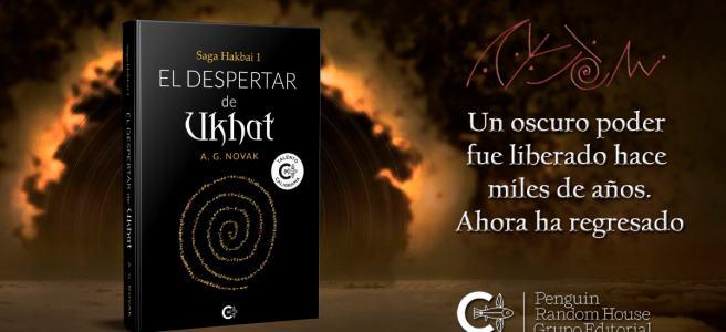 Portada de El despertar de Ukhat, un libro de A. G. Novak.